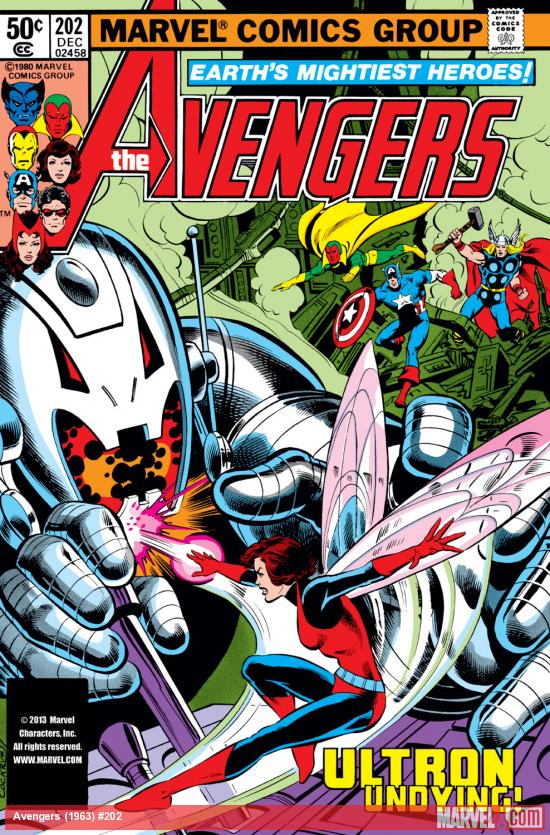 Avengers (1963) #202 Cover