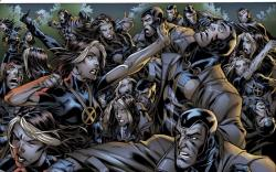 ULTIMATE X-MEN #100 preview art by Mark Brooks