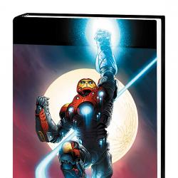 ULTIMATE IRON MAN VOL.1 PREMIERE HC COVER