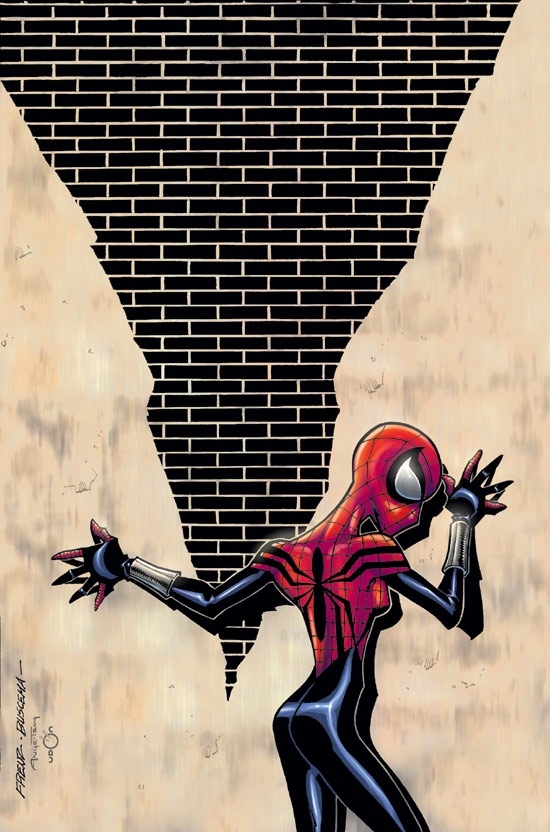 SPIDER-GIRL (2003) #66 COVER