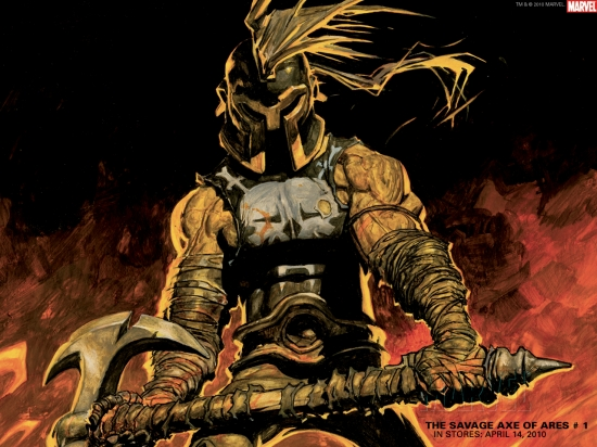 The Savage Axe of Ares (2010) #1 Wallpaper