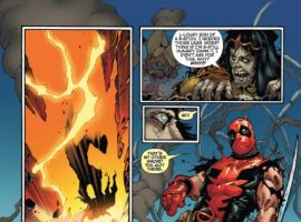 DEADPOOL: MERC WITH A MOUTH #11 preview art by Bong Dazo