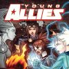 YOUNG ALLIES #3 cover by David Lafuente