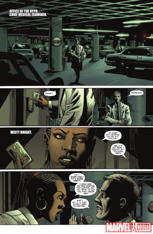 SHADOWLAND: BLOOD ON THE STREET #2 preview page by Wellinton Alves