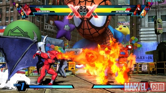 Firebrand in Ultimate Marvel vs Capcom 3 by Capcom