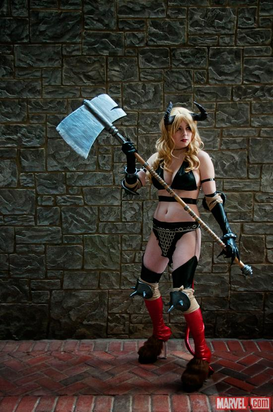 Marvel Cosplay: Magik Cosplayer at Katsucon