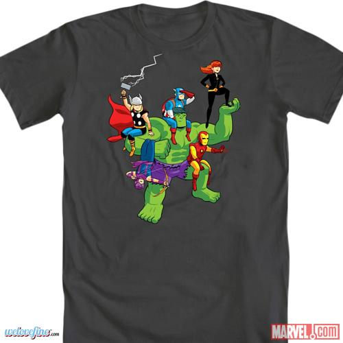 Mighty Fine: Avengers Tee Design Contest Winner