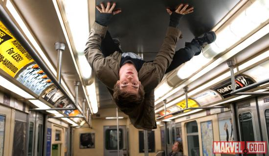 Andrew Garfield as Spider-Man/Peter Parker in The Amazing Spider-Man