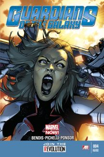 Guardians of the Galaxy #4  (2nd Printing Variant)