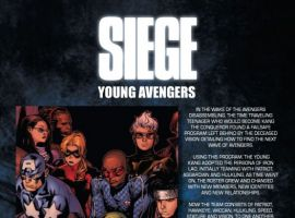 SIEGE: YOUNG AVENGERS #1 Recap Page