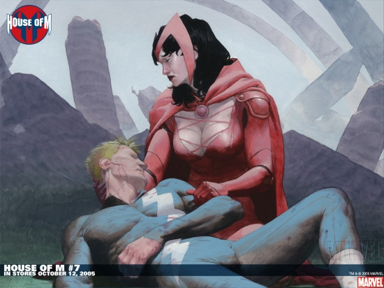 House of M (2005) #7 Wallpaper