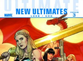 ULTIMATE COMICS NEW ULTIMATES #3 cover by Frank Cho