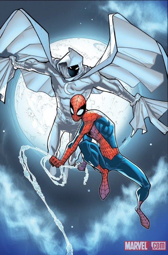 Moon Knight (2011) #1 variant cover by Humberto Ramos