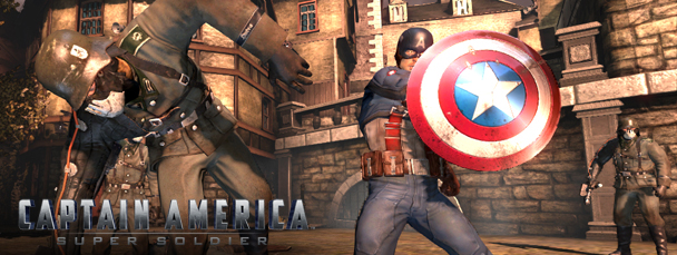 Captain America: Super Soldier Goes 3D