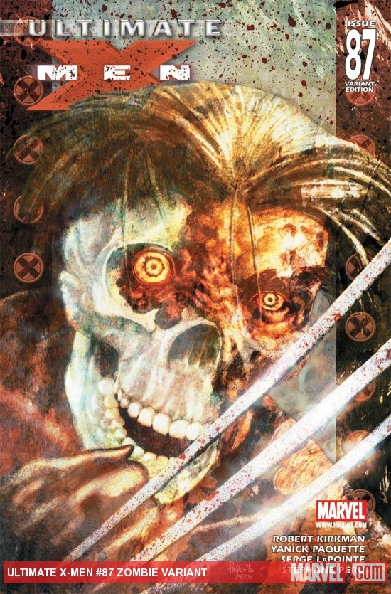 Ultimate X-Men (2000) #87, Zombie Variant