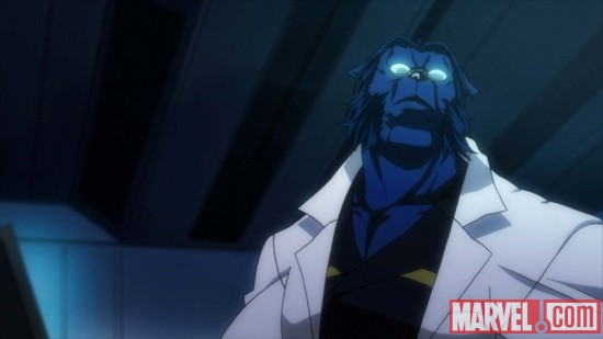 Screenshot from X-Men episode 4