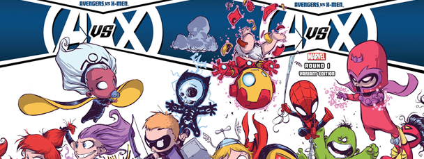 Skottie Young Covers AvX #1