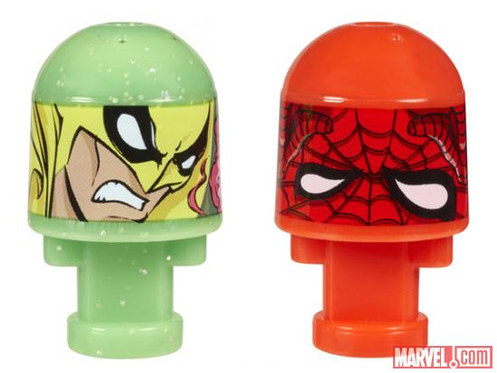 Iron Fist and Spider-Man Marvel Bonkazonks