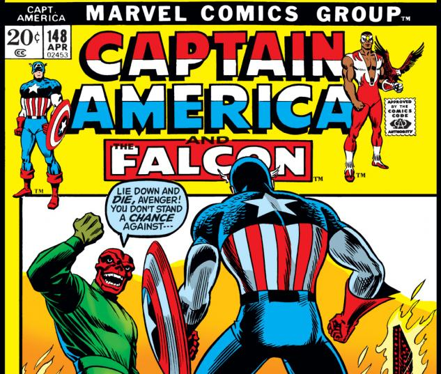 Captain America (1968) #148 Cover
