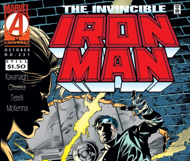 Iron Man (1968) #321 Cover