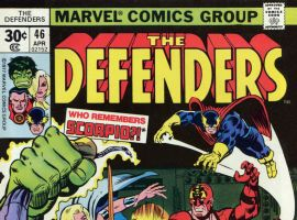 Defenders (1972) #46 cover