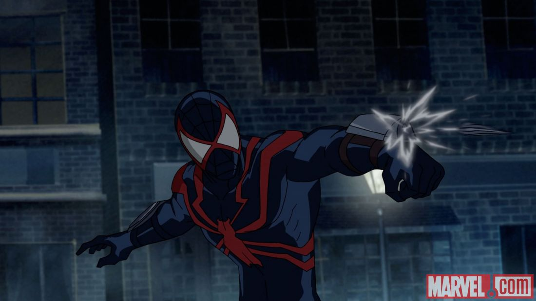 Tomorrow Night Marvels Ultimate Spider Man Vs The Sinister 6 Launches Its Second Four Part Verse Event This Time Taking Peter Parker Miles