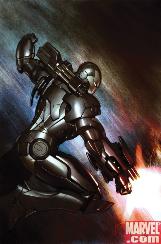 IRON MAN: DIRECTOR OF S.H.I.E.L.D. #35 cover by Adi Granov