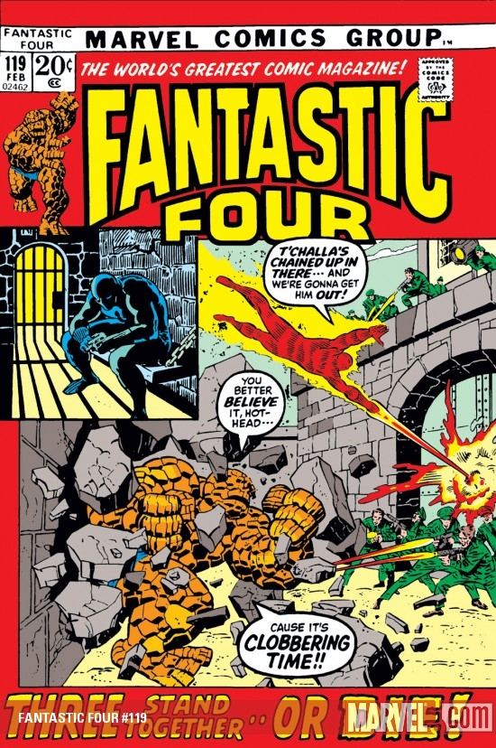 FANTASTIC FOUR #119
