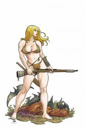 Shanna, the She-Devil #4 