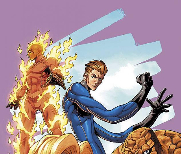 MARVEL AGE FANTASTIC FOUR (2006) #9 COVER