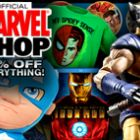 Marvel Shop: 15-percent off everything now!