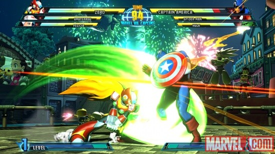 Marvel vs. Capcom 3: Zero screenshot