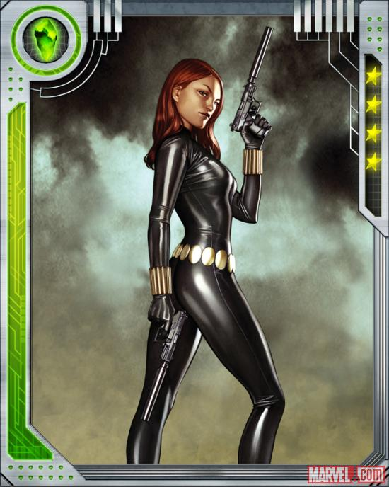 Black Widow in Marvel: War of Heroes