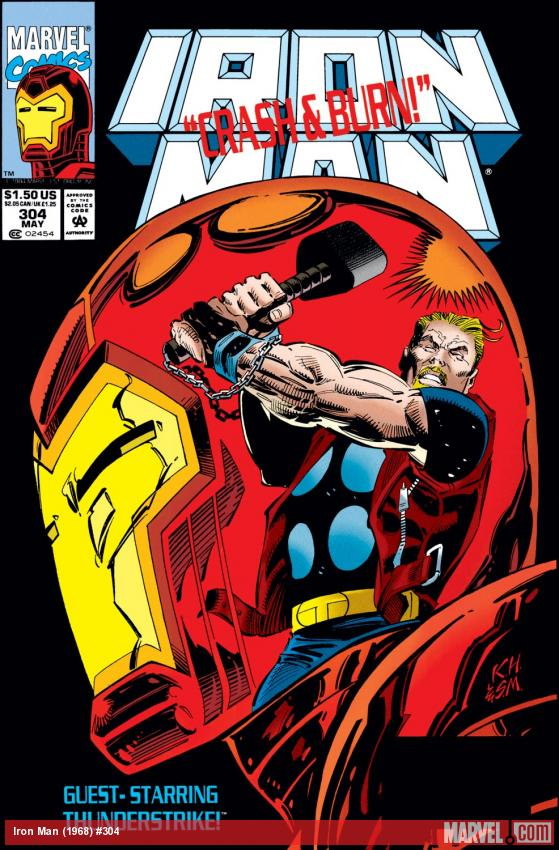 Iron Man (1968) #304 Cover
