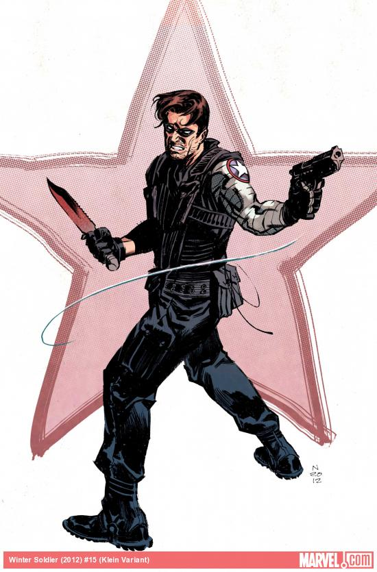 Winter Soldier #15 Variant