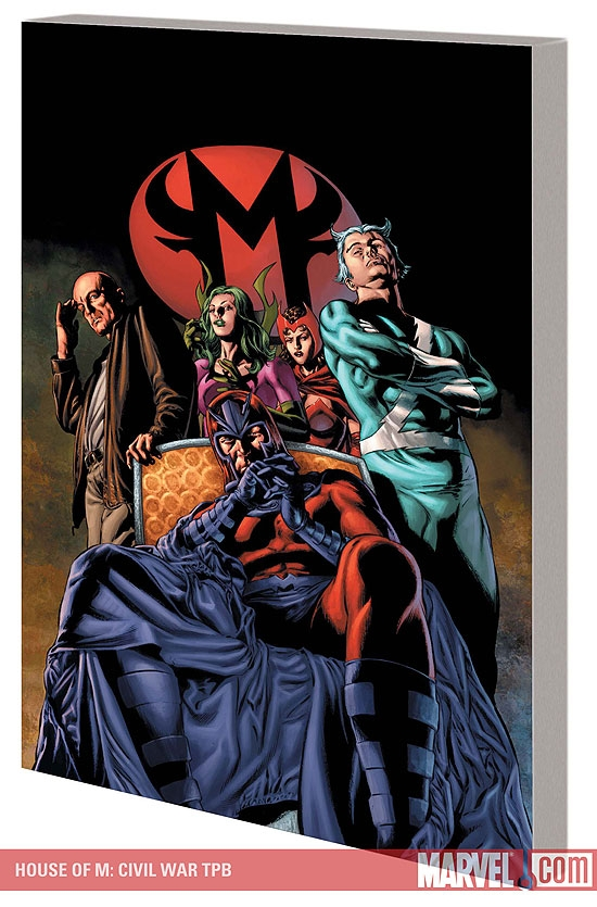 HOUSE OF M: CIVIL WAR TPB #0