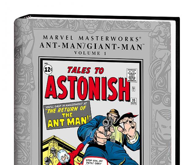 MARVEL MASTERWORKS: ANT-MAN/GIANT-MAN VOL. #0
