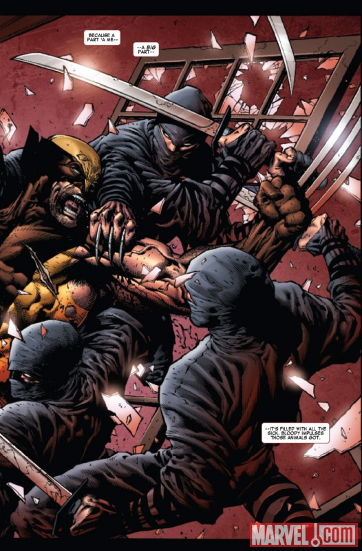 WOLVERINE #900 preview art by David Finch
