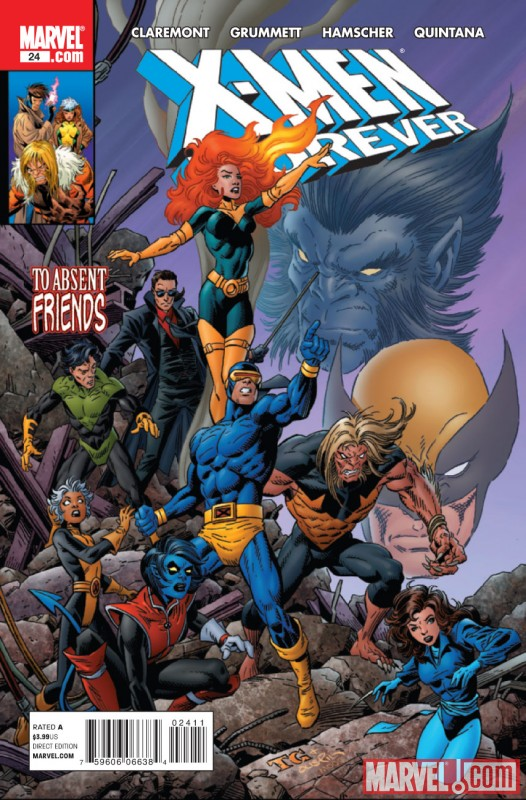 X-MEN FOREVER #24 Cover by Tom Grummett