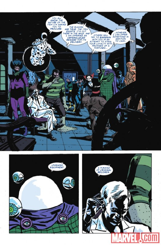 Image Featuring Mr. Negative, Molten Man, Morbius, Mysterio