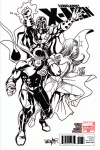 Uncanny X-Men (1963) #543 (Architect Sketch Variant)