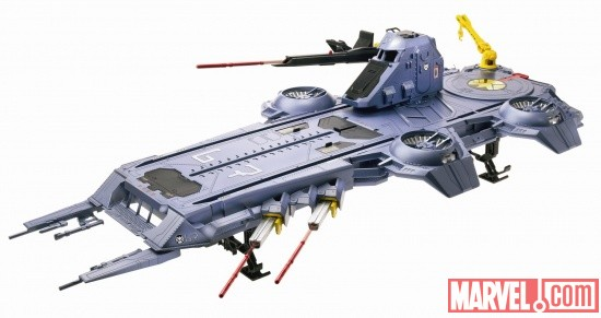 Marvel Avengers S.H.I.E.L.D. Flying Fortress