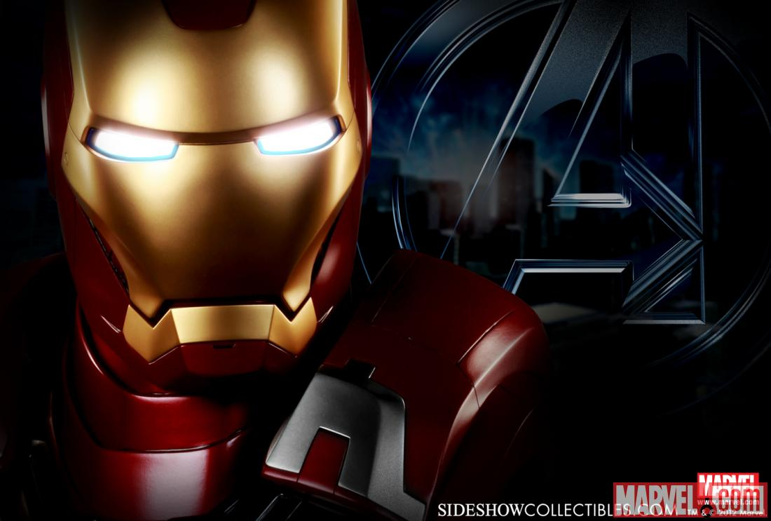 [Sideshow] Iron Man Mark VII Life Size Bust 4fbe886b9bb1d
