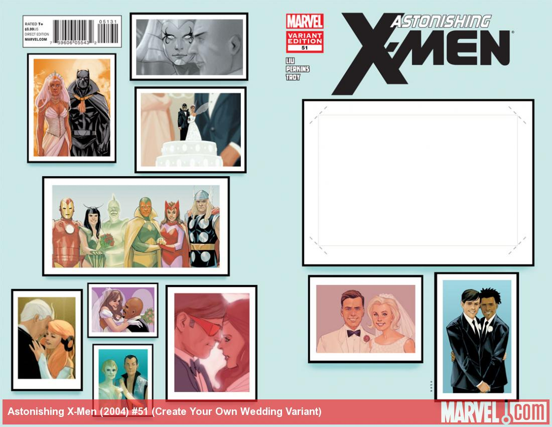 Astonishing X-Men #51 Create Your Own Wedding cover by Phil Noto