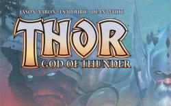 Thor: God of Thunder #2 cover by Esad Ribic
