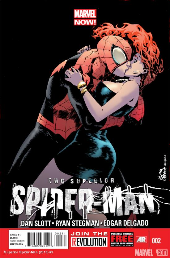 Superior Spider-Man #2 cover by Ryan Stegman