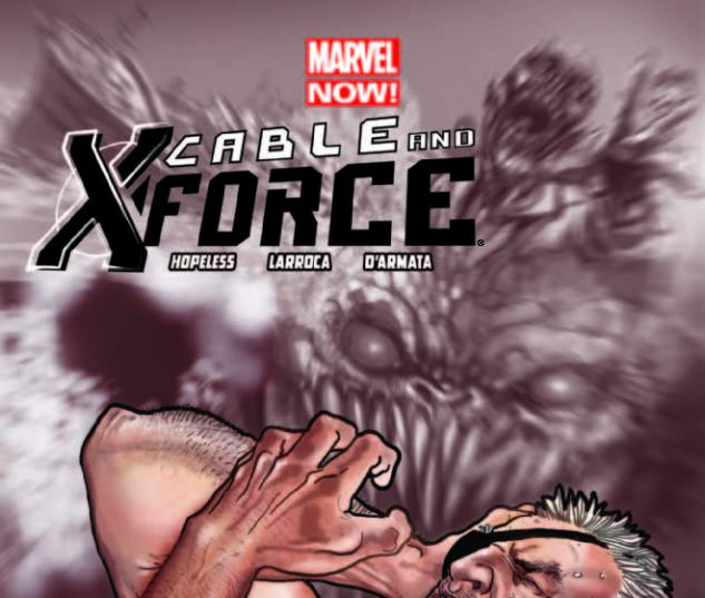 CABLE AND X-FORCE 2 2ND PRINTING VARIANT