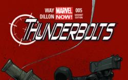 THUNDERBOLTS 5 TAN VARIANT (NOW, 1 FOR 50)