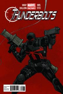 Thunderbolts (2012) #5 (Tan Variant)