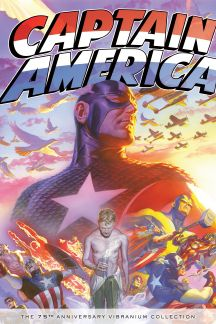 Captain America: The 75th Anniversary Vibranium Collection (Hardcover)